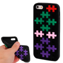 Puzzle Silikonh�lle f�r iPhone 5